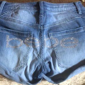 Bebe shorts size 27